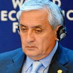 Guatemalan President Otto Perez Molina at the 2013 World Economic Form (photo by Michael Wuertenberg)