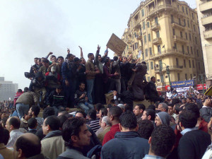 Muslim fall from power in Egypt