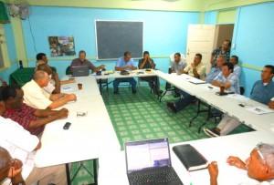 Belizean leaders