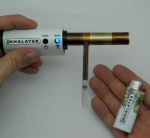 A device used for vaporizing marijuana