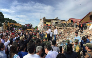 multiple earthquakes hit Mexico